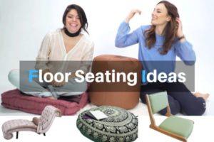 Best Floor Seating ideas for living room