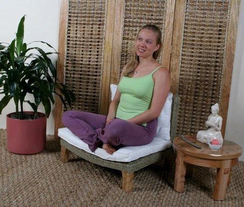 XoticBrands seagrass yoga seats