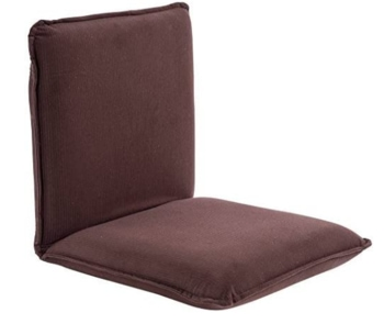 Sundale adjustable floor chair with back support for adults