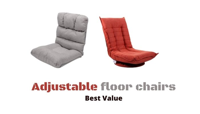 adjustable folding floor chair