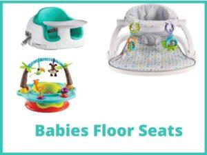 Best Floor seats for babies in 2021