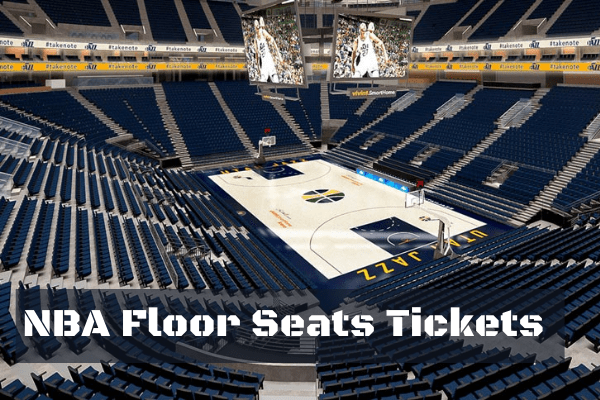 Floor seating ticket prices on NBA Football